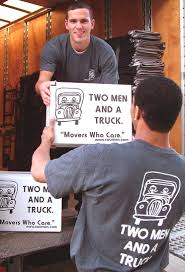 Movers Do It In The Rain | Company Newsroom Of TWO MEN AND A TRUCK Two Men And A Truck Chattanooga Tn Movers Movers For Moms Wyoming Kentwood Now Two Men And Truck Kalamazoo Mi Cost Of Around 60516 Il Chicago Recycle Your Moving Boxes With These Fun Tips Raleigh Nc Sacramento Moving Company Gives Advice On How Twomendmoines Twitter 37 Best Who Care Images On Pinterest Men Truck And A Budget But Have Heavy Fniture There Is Solution You Can