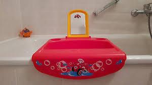 okbaby kinderwaschbecken mini waschbecken space mit spiegel