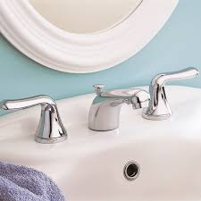 American Standard Colony Faucet by Colony Soft 2 Handle 8 Inch Widespread Bathroom Faucet American