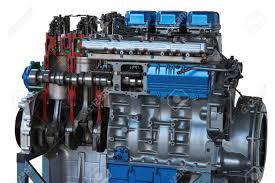 100 Truck Engine Automobile Car Sawed Splitted Cut In A Half Manual