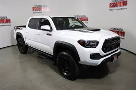 New 2018 Toyota Tacoma TRD Pro Double Cab Pickup In Escondido ... New 2018 Toyota Tacoma Trd Sport Double Cab In Elmhurst Offroad Review Gear Patrol Off Road What You Need To Know Dublin 8089 Preowned Sport 35l V6 4x4 Truck An Apocalypseproof Pickup 5 Bed Ford F150 Svt Raptor Vs Tundra Pro Carstory Blog The 2017 Is Bro We All Need Unveils Signaling Fresh For 2015 Reader