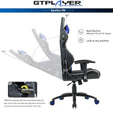 GTPLAYER Music Gaming Chair With Bluetooth Speakers【Patented】 Audio Racing  Office Chair Heavy Duty 400lbs Ergonomic Multi-Function E-Sports Chair For  ... Costco Gaming Chair X Rocker Pro Bluetooth Cheap Find Deals On Line Off Duty Gamers Maxnomic Dominator Gamingoffice Gaming Chair Star Trek Edition Classic Office Review Best Chairs Ever Maxnomic By Needforseat Brazen Shadow Pc Chairs Amazoncom Pro Breathable Ergonomic Rog Master Akracing Masters Series Luxury Xl Blue Esport L33tgamingcom Vertagear Pline Pl6000 Racing