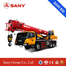 China Sany Stc250 25 Ton Telescopic Boom Truck Mounted Crane - China ...
