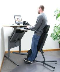 desk chair chair for standing desk nice long in black color