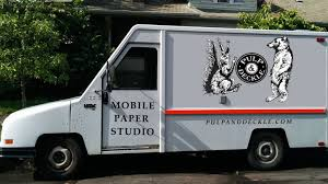 100 Truck And Auto Wares Portlands Pulp Deckle Papermaking Studio Is Going Mobile By