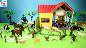 Horse Stable And Farm Animals Barn Toys For Kids - Learn Animals ... Saddle Up With The Sleich Horse Club Riding Centre The Toy Insider Grand Stable Barn Corral Amazoncom Melissa Doug Fold And Go Wooden Ikea Hack Knagglig Crate For Horses Best Farm Toys Photos 2017 Blue Maize Breyer Stablemates Red Set Kids Ebay Life In Skunk Hollow Calebs Model How To Make Stall Dividers A Box Toy Horse Barns Sale Ideas Classics Country Wash Walmartcom Kid Friendly Youtube Traditional Deluxe Wood Cupola