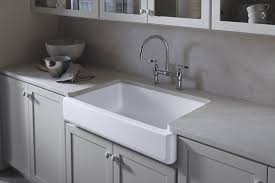 kohler k 6488 0 whitehaven self trimming apron front single basin