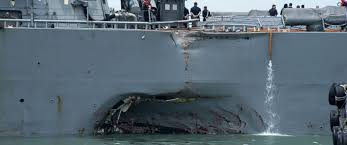 Uss America Sinking Photos by 10 Missing After Uss John S Mccain Collides With Merchant Ship