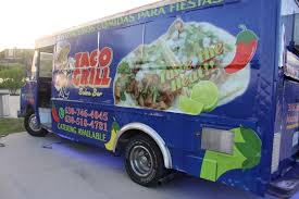 Taco Grill And Salsa Bar Food Truck In Aurora, IL | Mexican Food Truck