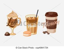 Iced Coffee Latte Or Mocha And Freddo Cup Sleeve
