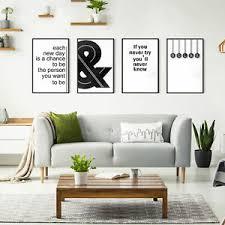 details zu poster set druck galerie bilder flur abstrakt schwarz weiß deko design 9 motiv