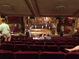 View of Hamilton stage from back row of the mezzanine Picture of