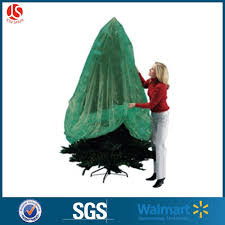 Dongguan Supplier Thick Plastic Green Color Removal Bag Christmas Tree