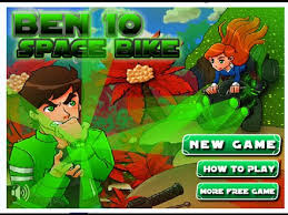 Play Free Online Games Ben 10 Of Alien Force Space Bike Racing Game
