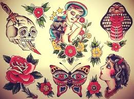 26 Best Tattoo Flash Sets Images On Pinterest