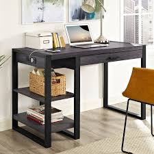 Sauder Beginnings Computer Desk by Walker Edison Urban Blend Computer Desk Walmart Com