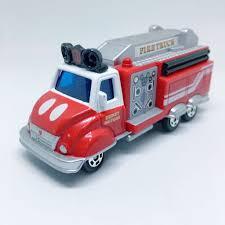 100 Mickey Mouse Fire Truck Takara Tomy Tomica DM32 Disney Motors