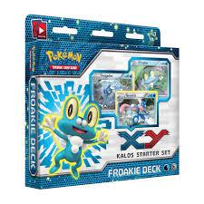 Pokemon Deck List Standard by Froakie Kalos Starter Theme Deck Trading Card Game Tcg