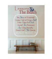 Wall Mural Decals Beach by Beach Themed Wall Decals Foter