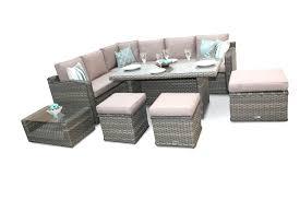 patio sofa dining set lg outdoor rattan corner dining set seat garden sofa san marino