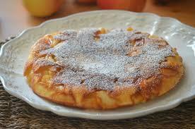 dessert au pomme rapide gâteau aux pommes à la poêle pratique rapide surprenant