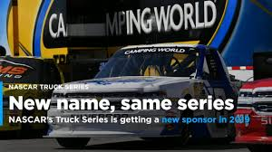 NASCAR's Truck Series Will Have A New Title Sponsor In 2019 [Video] Playoff Watch Camping World Truck Series Posttexas Official Nascar Sets Stage Lengths For Every 2017 Cup Xfinity Gander Outdoors To Sponsor In 2019 Local Report Abreu Returns Truck Series St Helena Star Daytona Intertional Nextera Energy Rources 250 Live Stream 2016 Winners Site Of Fight At Gateway Youtube Heat 3 Ncwts Roster Set Take On High Banks Of Bristol Sports Justin Haley Takes Stlap Lead Win Engine Spec Program On Schedule For Trucks In May Chris