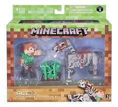 Minecraft Bedding Walmart by Minecraft Series 3 Alex With Skeleton Horse Action Figure Set
