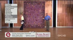 Royal Palace Butterfly Harmony 7 X 9 Handmade Wool Rug Page 1