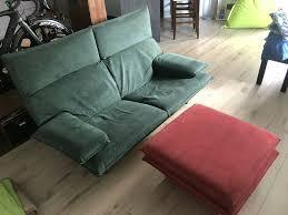 stylische sitzecke sofa 2 sitzer no ikea inkl hocker