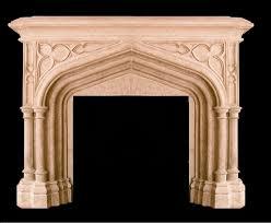 Batchelder Tile Fireplace Surround by Gothic Spandrel Jpg 2208 1816 Fireplace Pinterest Gothic