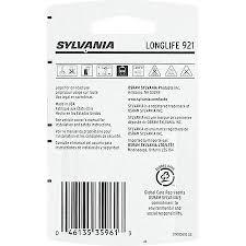 sylvania 921 longlife mini bulb pack of 2 921llbp2 advance auto