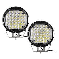 100 Led Work Lights For Trucks Yitamotor 2Pcs 9 12V Spot Round Off Road Fog