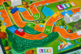Game Of Life Playing Board Is A Metaphor For Physical Reality