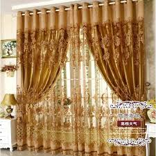 Gold And White Sheer Curtains by Gold Living Room Curtains Modern Gold And Sheer Blue Drapes For