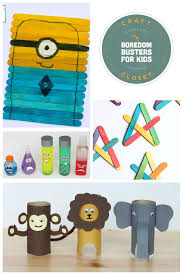 25 Crafts And Activities For Kids Using Everyday Materials