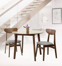 SK New Interiors Dining Kitchen Round Table And 2 Yumiko Side Chairs (Set  Of 3) Solid Wood Medium Brown Finish Sonoma Road Round Table With 4 Chairs Treviso 150cm Blake 3pc Dinette Set W By Sunset Trading Co At Rotmans C1854d X Chairs Lifestyle Fniture Fair North Carolina Brera Round Ding Table How To Find The Right Modern For Your Sistus Royaloak Coco Ding With Walnut Contempo Enka Budge Neverwet Hillside Medium Black And Tan Combo Cover C1860p Industrial Sam Levitz Bermex Pedestal Arch Weathered Oak Six