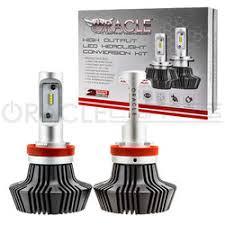 oracle h4 4 000 lumen led headlight bulbs pair headlight