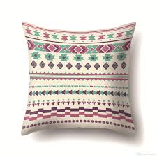 Bulk 38 Designs Bohemian Pattern 4545cm Household Fabric Cushion Covers Bedroom Set Christmas Gifts Home Decor Party Decoration Patio Chair Replacement