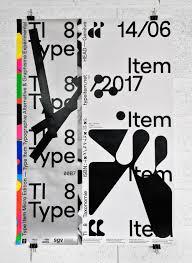 Type Item 8 Promo Poster 2017