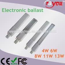 gx23 g23 led bulb compatible electronic ballast led g23 flat pl
