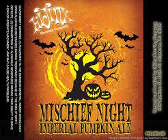 Imperial Pumpkin Ale by Hijinx Brewing Mischief Night Imperial Pumpkin Ale Mybeerbuzz