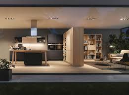 neue wohntrend in der küche im wohnzimmer