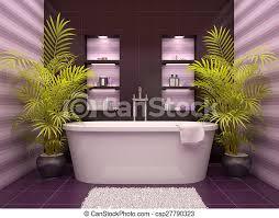 nischen badezimmer wand abbildung inneneinrichtung 3d