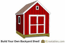 10x12 Barn Shed Kit by Barn Shed Plans Classic American Gambrel Diy Barn Designs