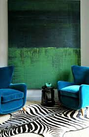 Teal Color Living Room Decor by Color Clash Emerald And Teal Emily Henderson