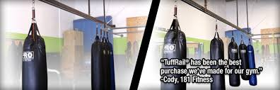 tuffrail com heavy bag mounting application and cargo management