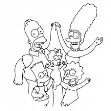 Coloring Pages To Print The Loving Family