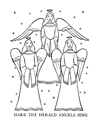 Bible Printables The Christmas Story Coloring Pages