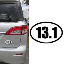 13.1 HALF MARATHON Oval Car Truck Magnet Black Runners Jogging Run ... Heavy Duty Car Magnets Van Truck Vehicle Doterra Magnetic No Paint Scratch Or Dent Cover Did A Deer Ding Your Make It Tow Shape Magnet Omg National Promo Items Toys Melissa Doug Loader Toy Wood Custom Signs At Affordable Prices Online From 799 Prting In Greater Danbury All Ct Signarama Whosale Branded Fxible Fridge Wft Decorative If Youve Got Bling Best Image Kusaboshicom Size Poster Big Canvas Prints