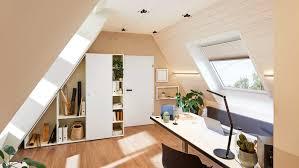 home office unter dem dach ein arbeitszimmer auf wenig raum